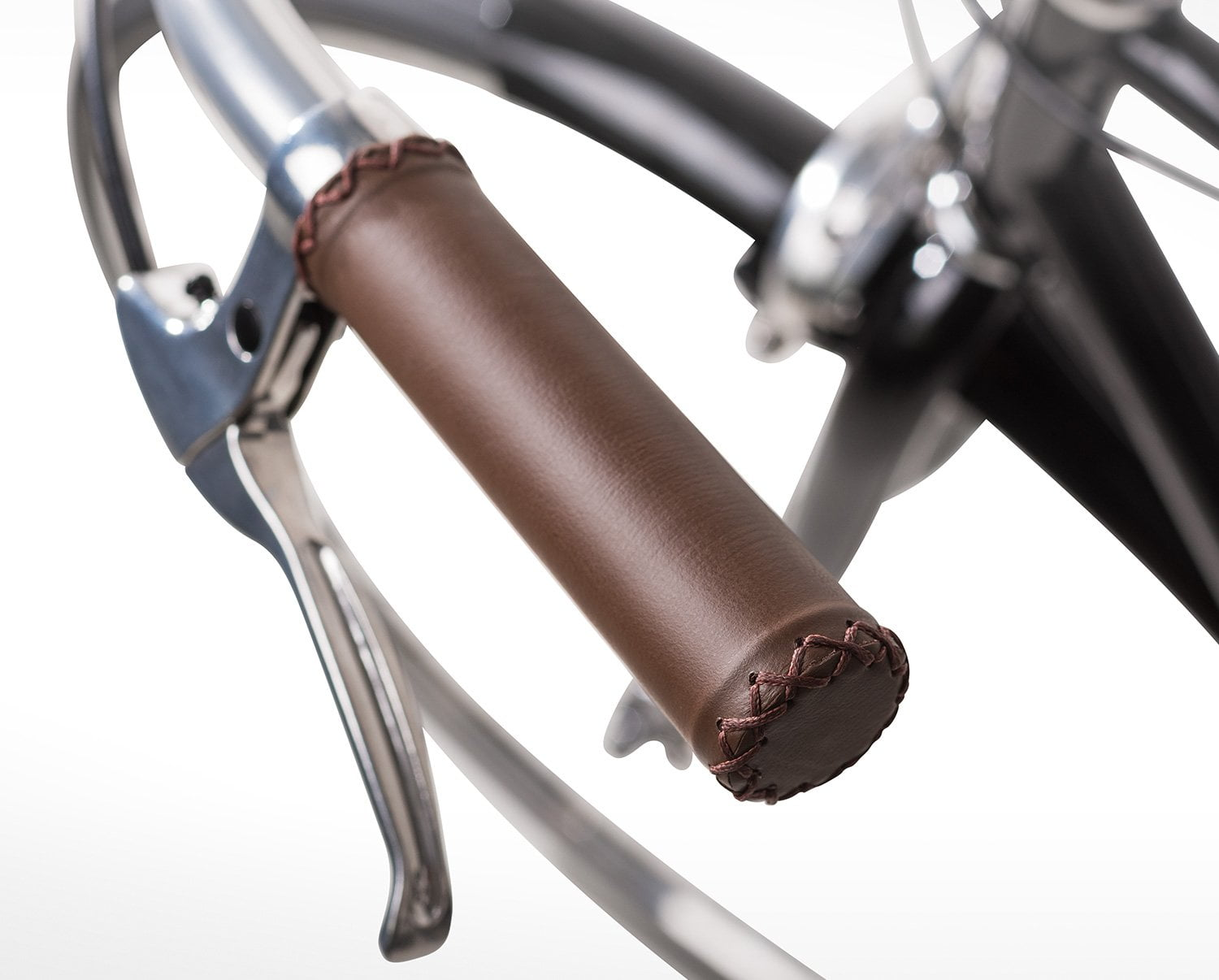In The Details - Leather Wrapped Grips