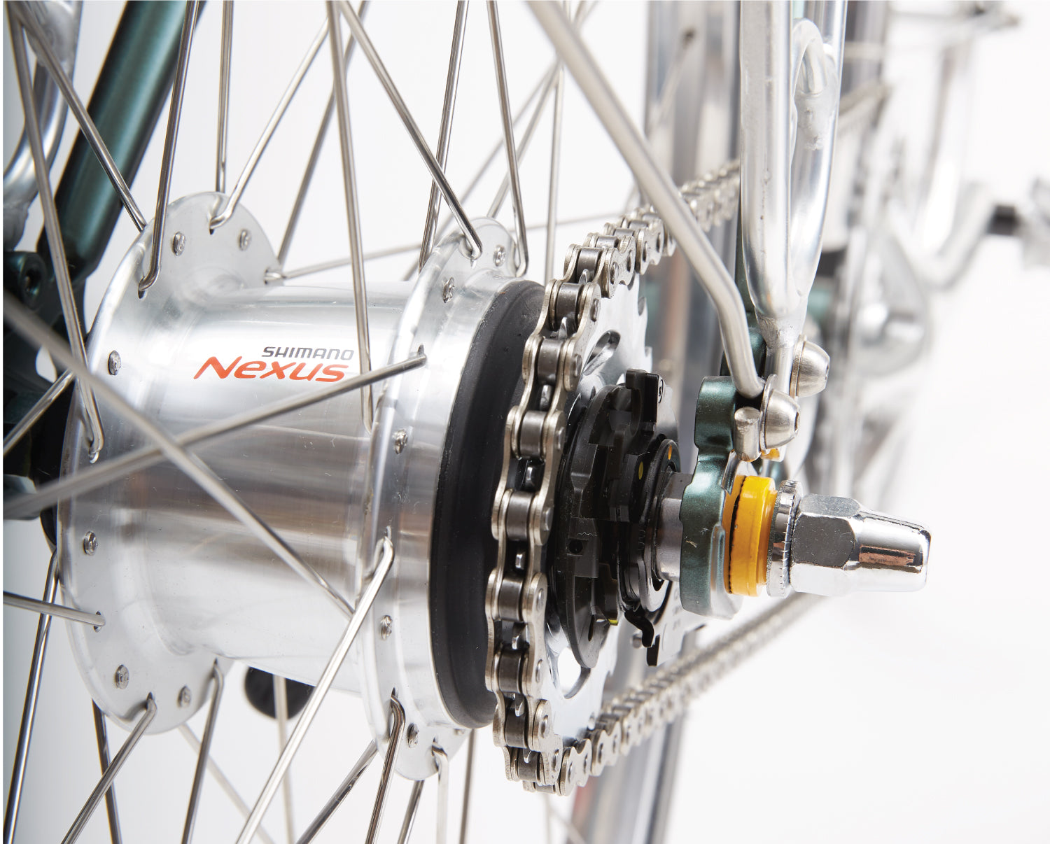 In The Details - 7-Speed Internal Hub