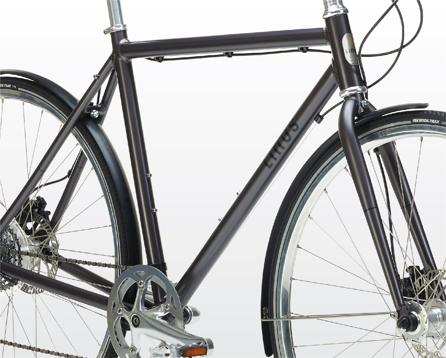 In The Details - Light-Weight Alloy Frame Set