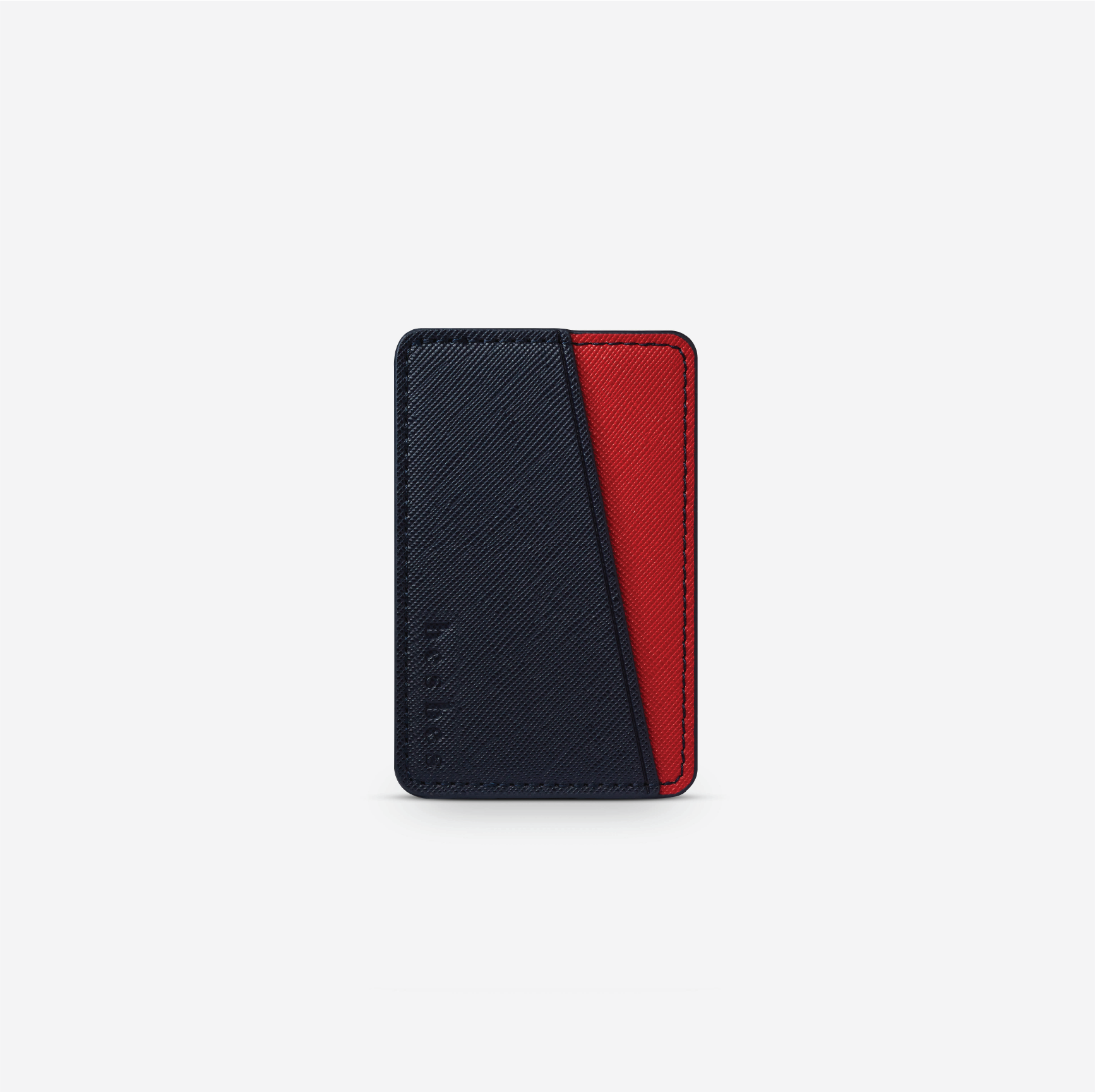 Blood Navy Vegan Leather Pocket