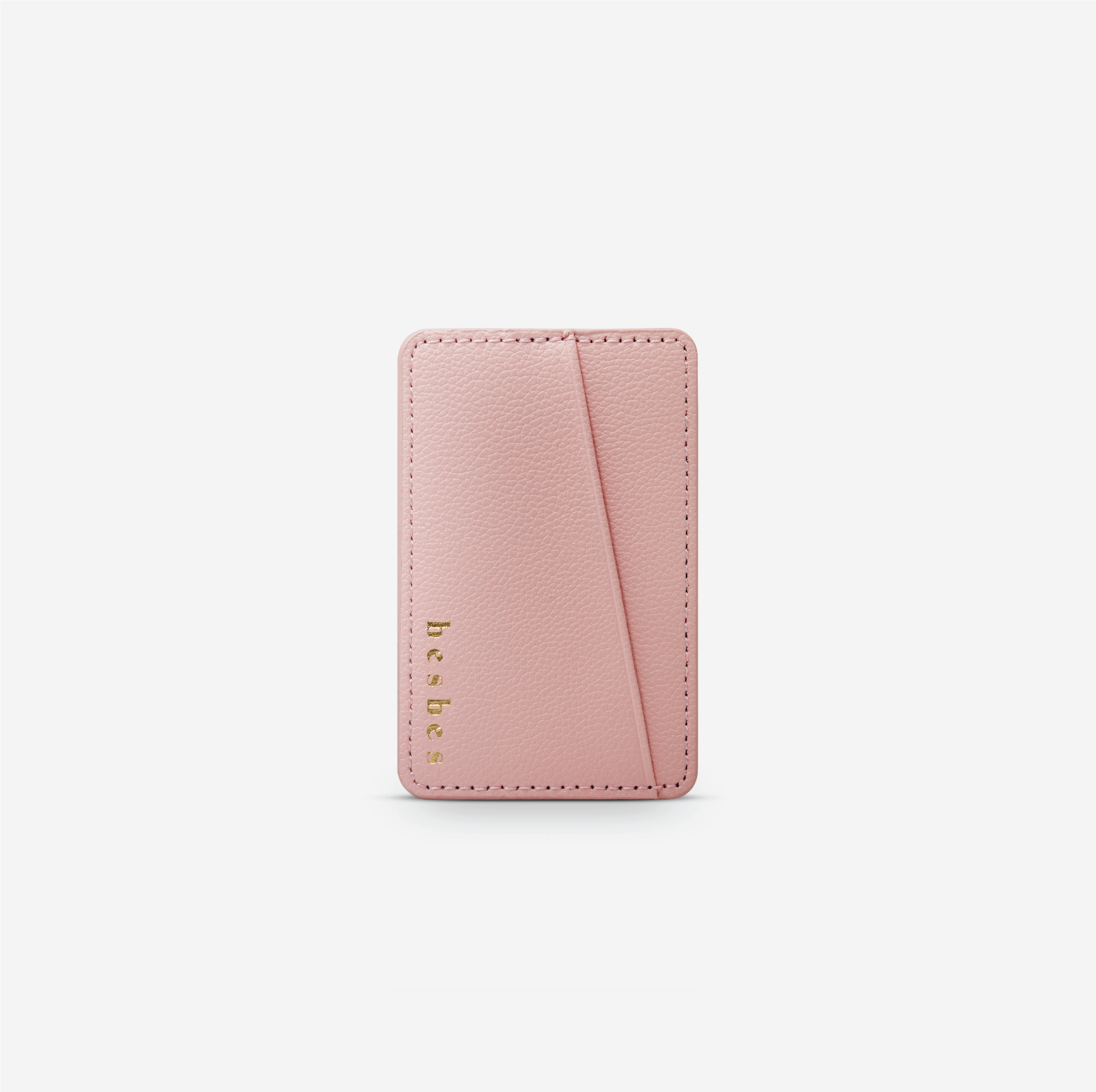Blush Pink Vegan Leather Pocket