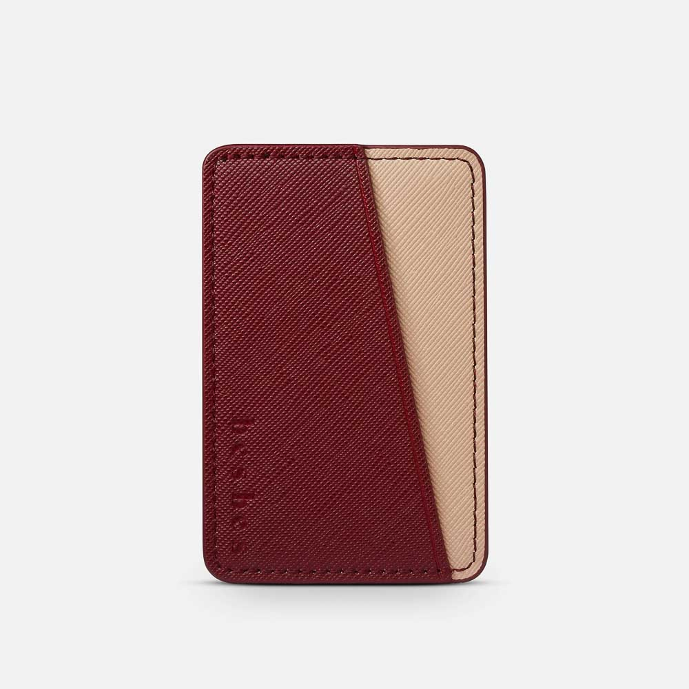 Brick Vegan Leather Pocket