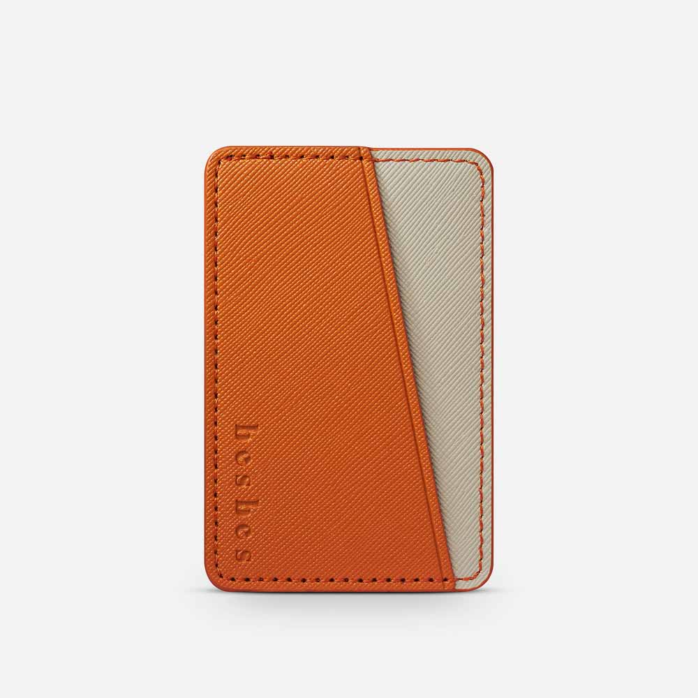 Citron Vegan Leather Pocket