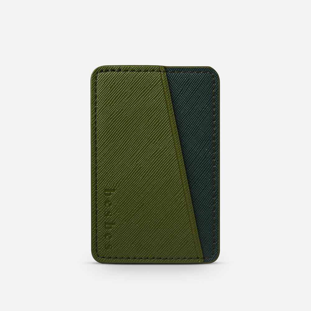 Deep Forest Vegan Leather Pocket