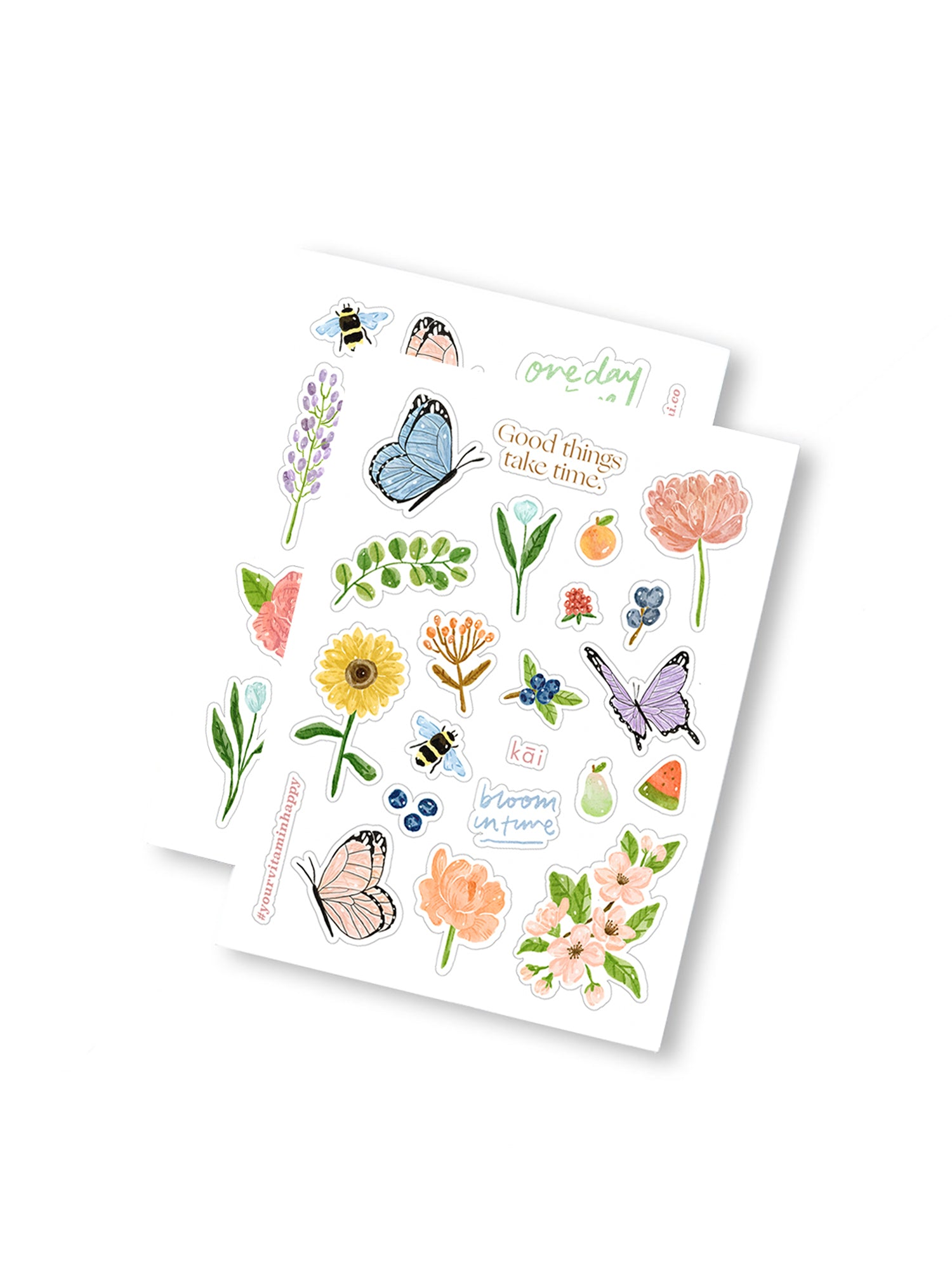 Spring Bloom Sticker Pack by kāi