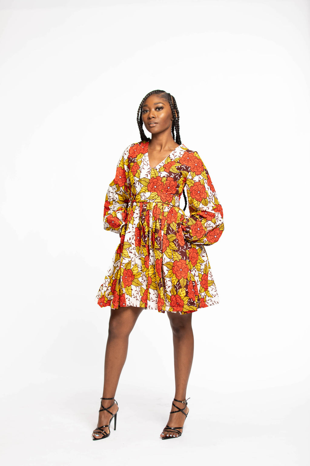 Winiey African Print dress