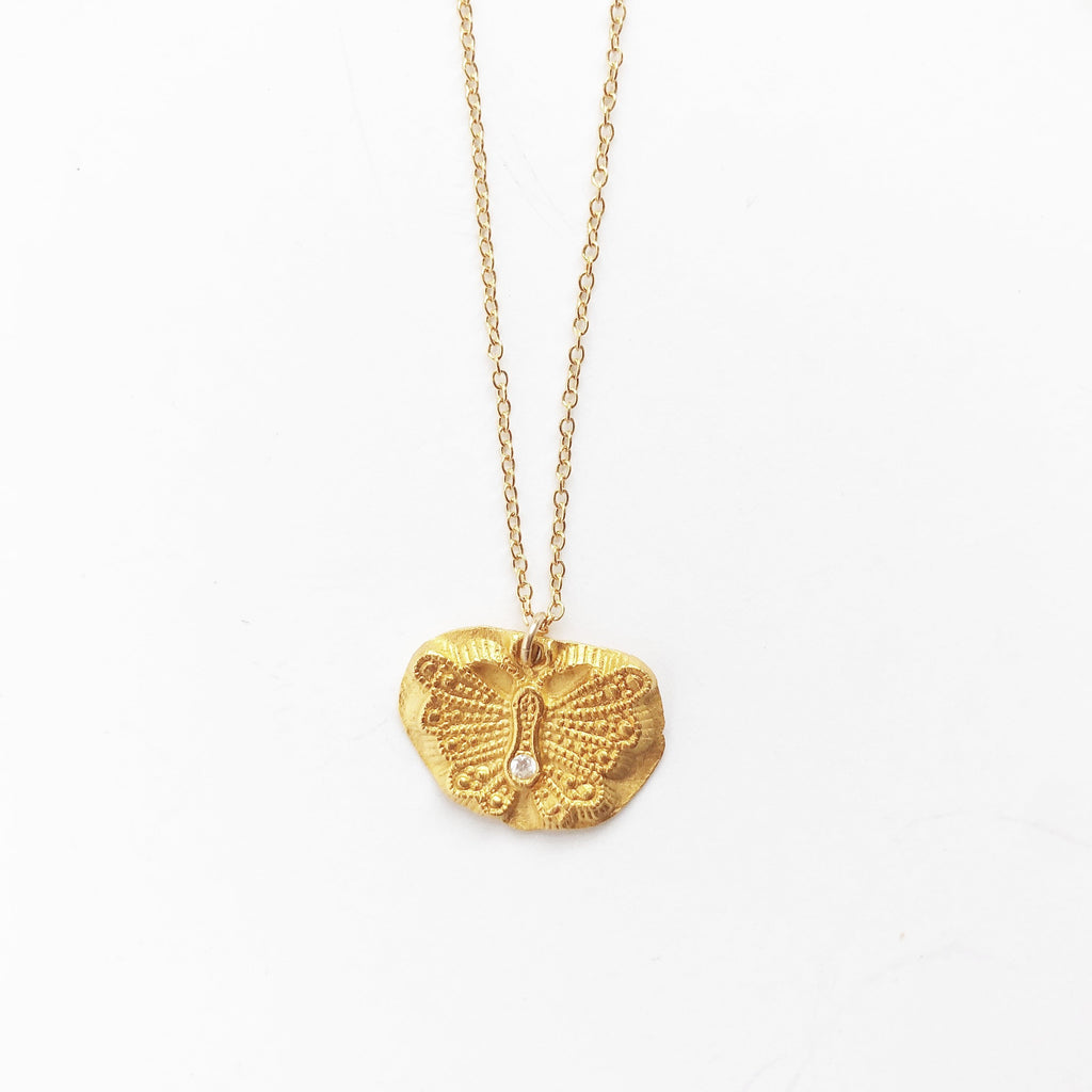 Butterfly-gold-charm-necklace-MAS-Designs-Jewelry