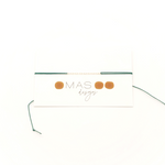 COVID-19 Support Green String Bracelet - MAS Designs