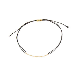 Black String Bracelet - MAS Designs