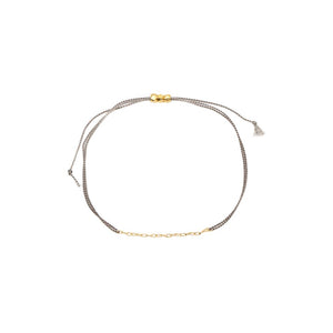 Grey String Bracelet - MAS Designs
