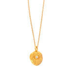 Hamsa Protection Charm Necklace Gold - MAS Designs