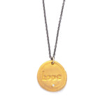 Hope Charm Necklace Gold - MAS Designs