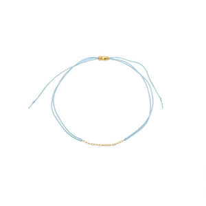 Light Blue String Bracelet - MAS Designs