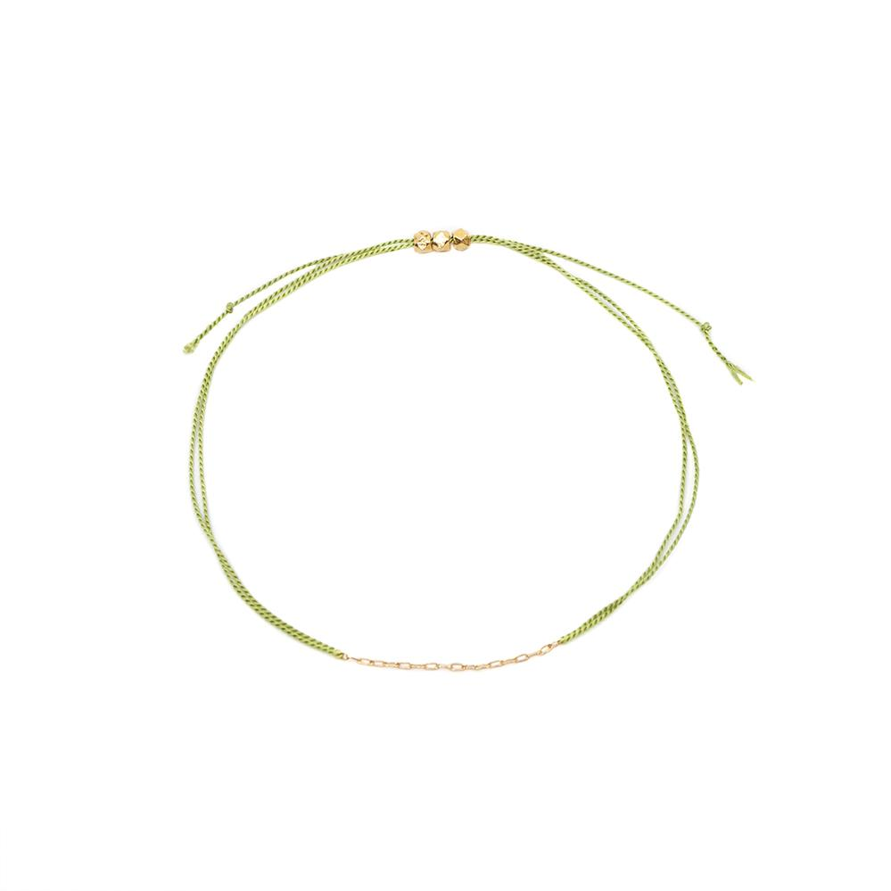 Light Green String Bracelet - MAS Designs