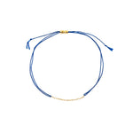 Navy Blue String Bracelet - MAS Designs