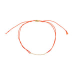 Orange String Bracelet - MAS Designs
