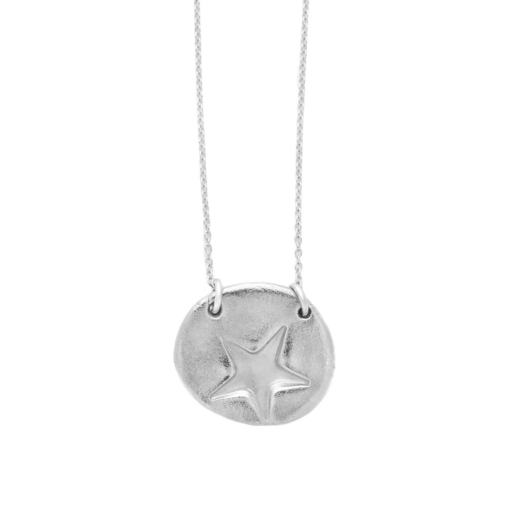 Star Charm Necklace Silver - MAS Designs