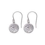 Tree of Life Hanging Earrings Silver - MAS Designs
