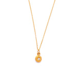 Little Lights Charm Necklace 18k Solid Gold - MAS Designs