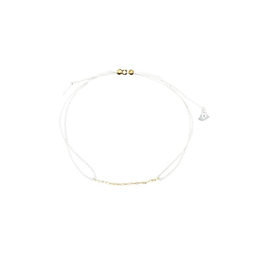 White String Bracelet - MAS Designs