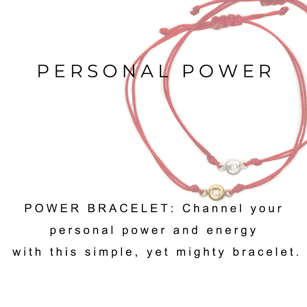 Power Bracelet Gold - MAS Designs