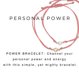 Power Bracelet Silver - MAS Designs