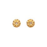 Sparks of Joy Diamond Stud Earrings Gold - MAS Designs