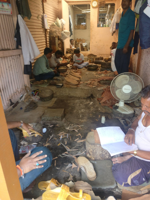 Real Story of Kolhapuri chappal craftsman By Bhavya Dore