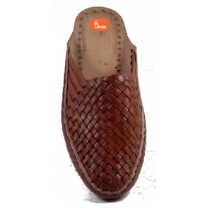 Sutra -  Ladies Hand Stitch slip on Brown