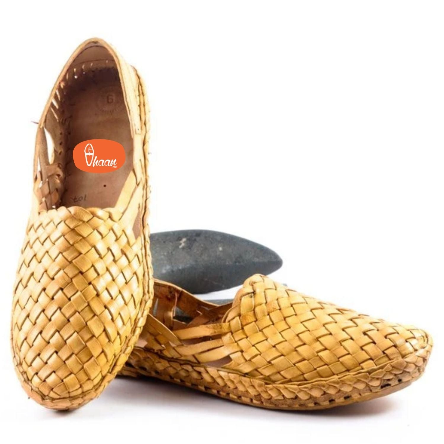 Authentic, Hand Stitched, Pure Leather, Net Full Shoes, for Men