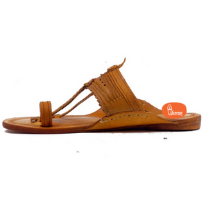 Classic Kolhapuri chappal for men made Senapati