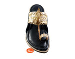 Senapati : Pure leather Cushioned Anti Slippery Assal kolhapuri chappal for men-Men-vhaanfootwear-6-vhaanfootwear
