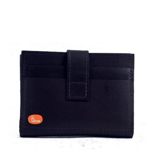 Pure Leather Card Holder (Brown Color)