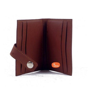 Pure Leather Card Holder (Tan Color)