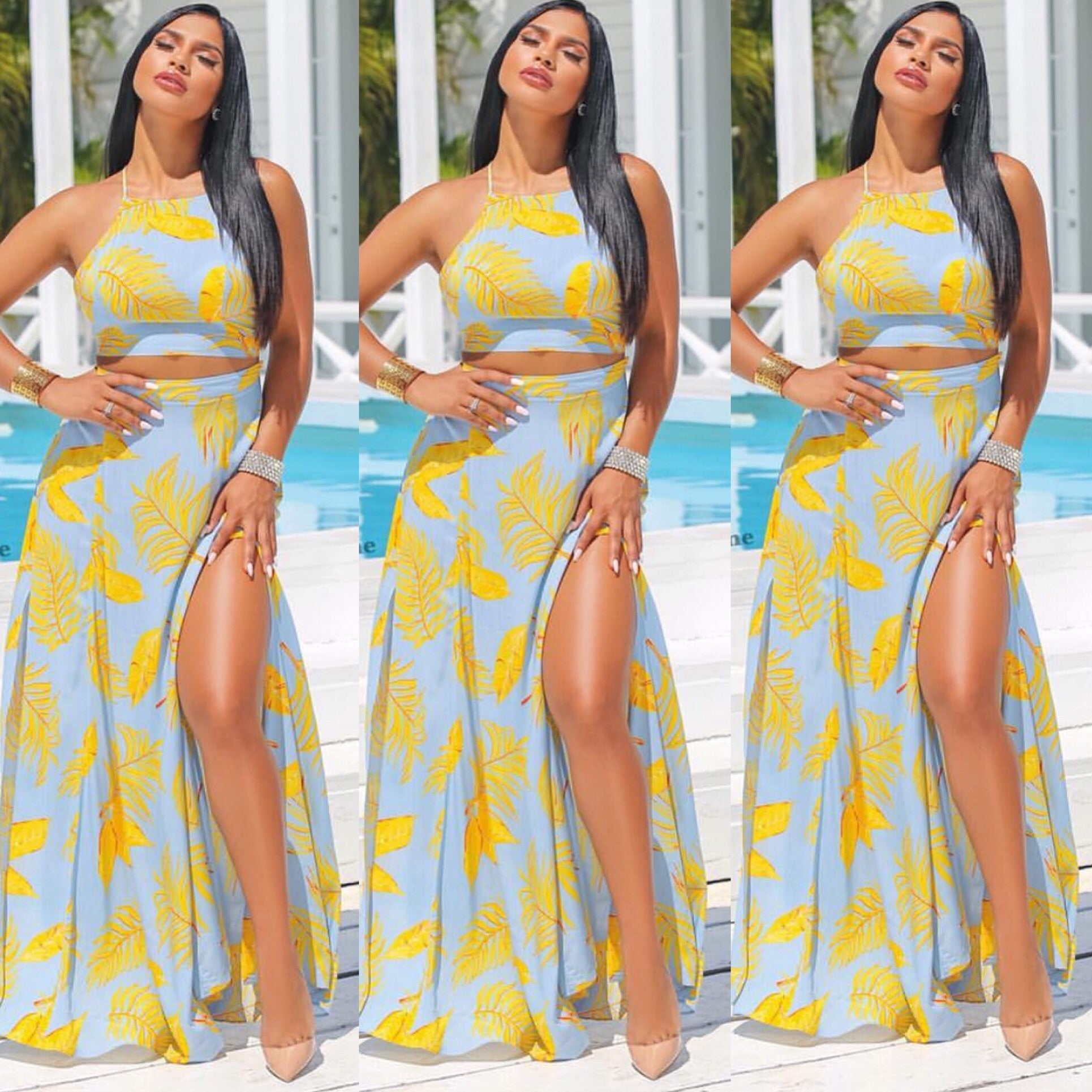 [All_the_Feels_Dress] - The Carib Honey Collection