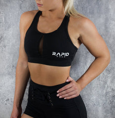 Rapid Wear Freedom Sports Bra Black