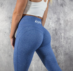 Rapid Wear Scrunch Leggings Blue