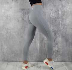 Rapid Wear Scrunch Leggings Grey