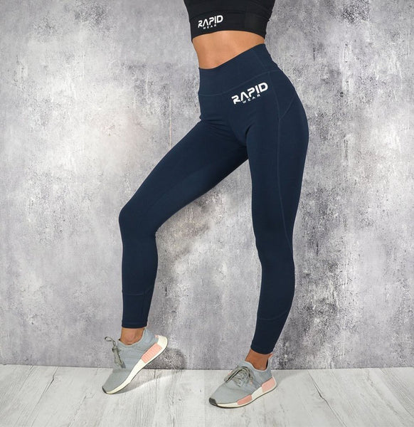 RapidWear - Comfort Leggings (Navy Blue)