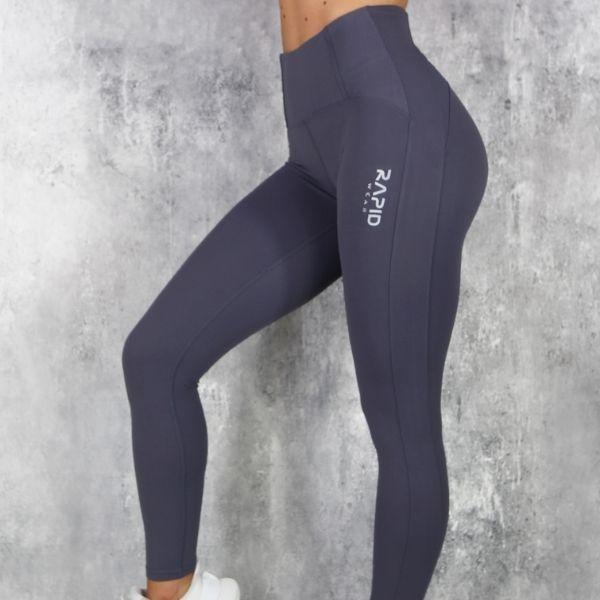 RapidWear - Mesh Core Leggings (Navy)