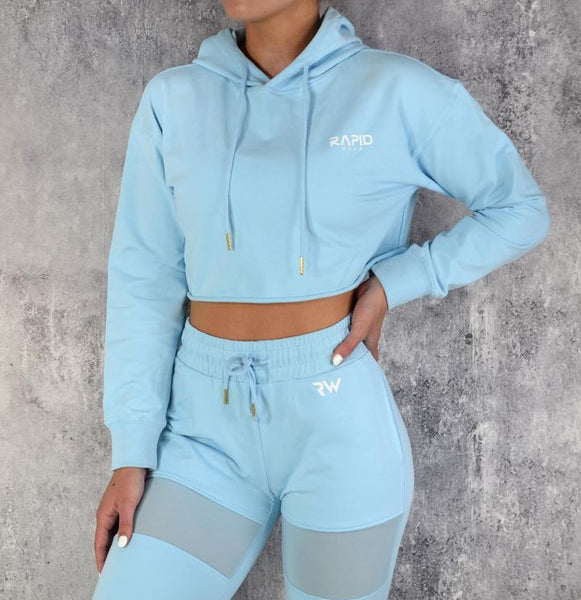 RapidWear - Work It Hoodie (Faded Blue)