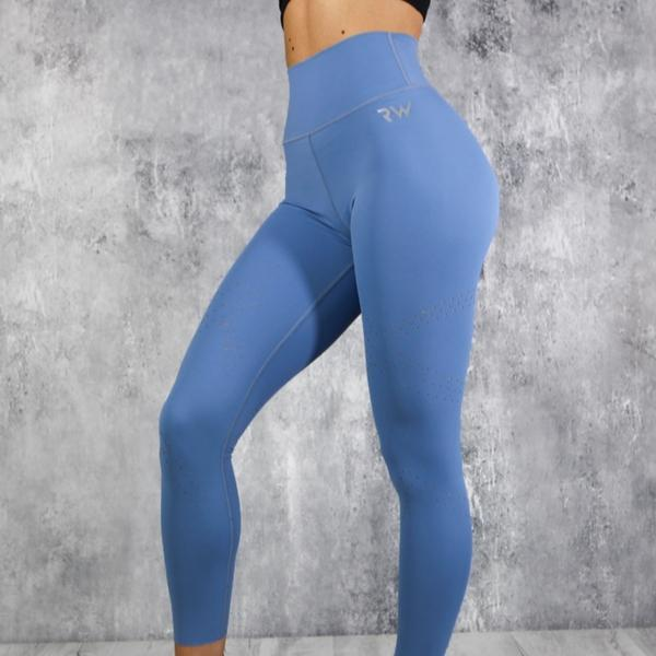 RapidWear - Detailed Preeminent Leggings (Blue)
