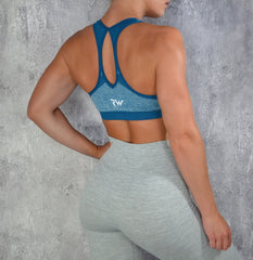 RapidWear - Empower Sports Bra (Blue)