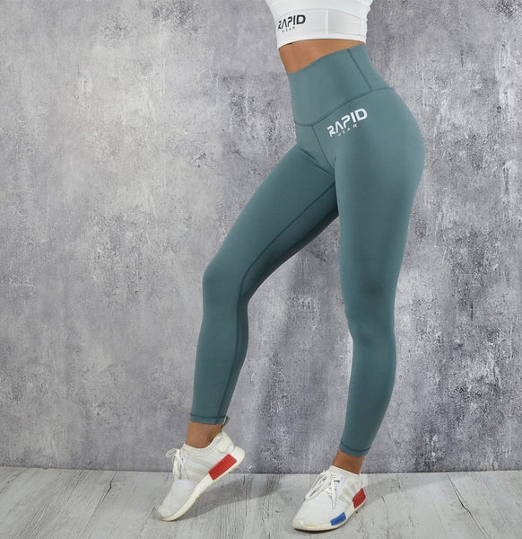 RapidWear - High Impact Leggings (Cool Mint)