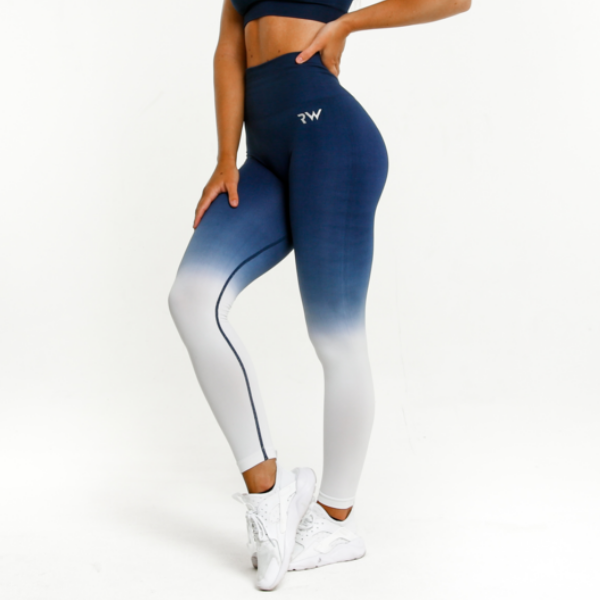 RapidWear - Ombre Seamless Leggings (Blue)