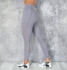 Rapid Wear - Power Mesh Leggings (Lavender)
