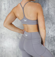 Rapid Wear - Power Sports Bra (Lavender)