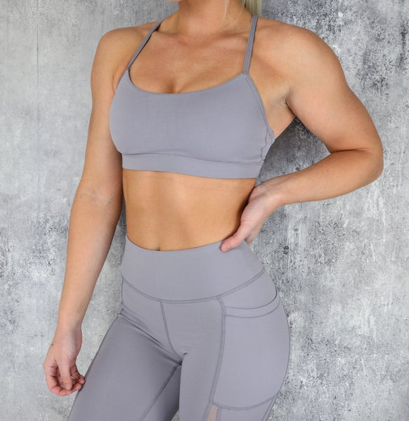 RapidWear - Power Sports Bra (Lavender)