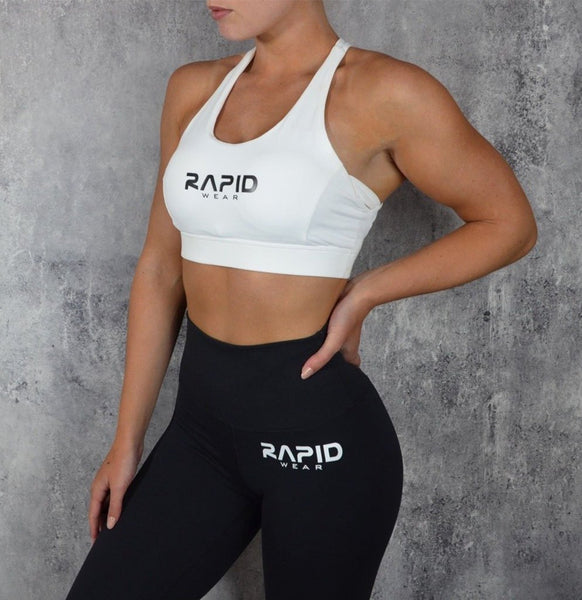 RapidWear - Runway Sports Bra (White)
