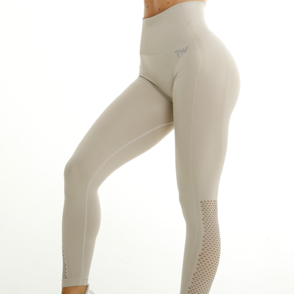 RapidWear - Seamless Agility Tights (Beige)